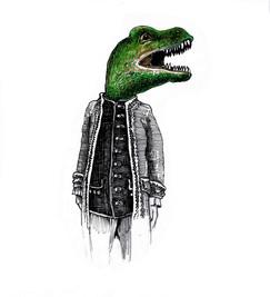 Dinosauro nel 1700