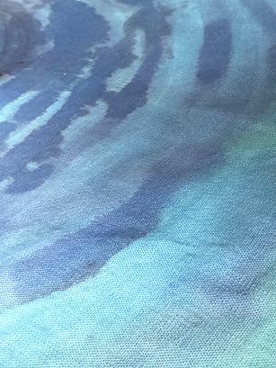 tessuti naturali dipinti dequoration