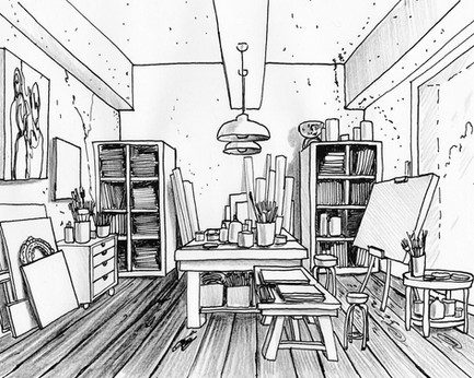 L'atelier del pittore