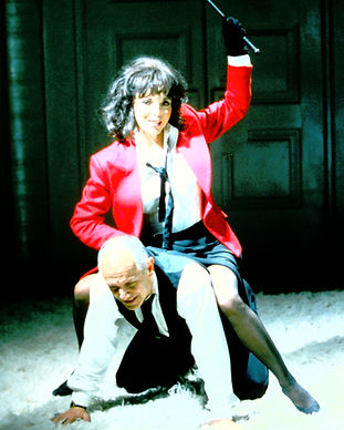 Steven Berkof & Joan Collins in Decadence play