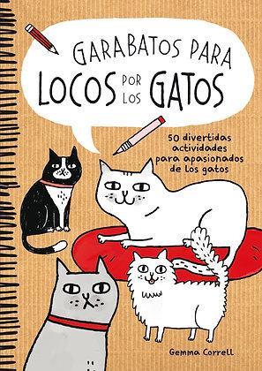 Garabatos para locos por los gatos