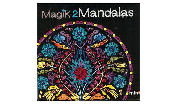 Libro de mandalas para colorear Magic-2