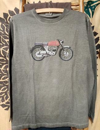 Camiseta de algodón Moto