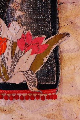 Bolso Flor lirio