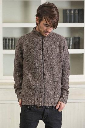 Chaqueta de lana Marcelinus Classic marrón