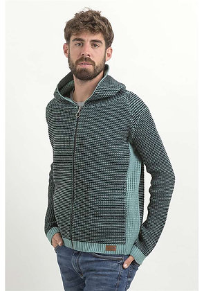 Jersey de lana Grevol verde