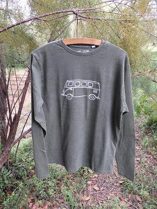 Camiseta algodón hombre