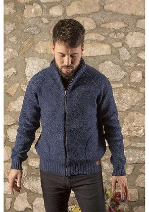 Chaqueta lana Classic azul