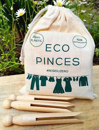 Eco pinzas para la ropa