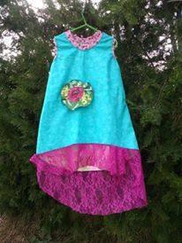 Vestido niña algodón