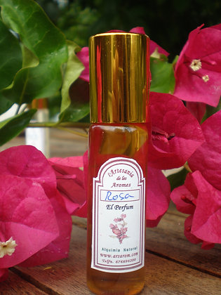 Perfume roll-on Rosa