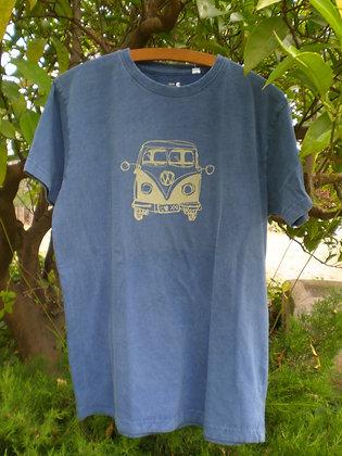 Camiseta Volkswagen azul