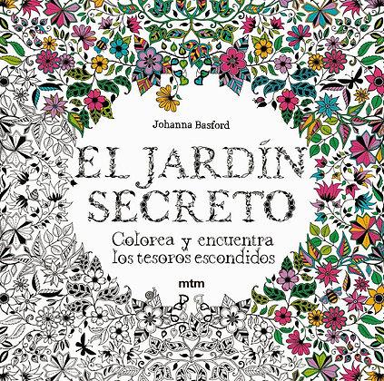 """Libro """"El jardín secreto"""""""