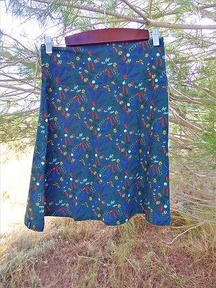 falda de algodón Camilla, flor