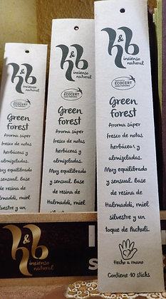 Incienso Green Forest