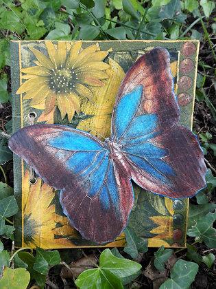 Postal de mariposas 2