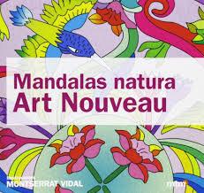 Libro Mandalas  Art Nouveau