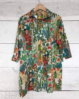 Camisa  estampada Frida1