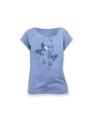 Camiseta manga corta mujer, Mariposas