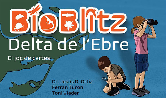 Juego de cartas Bioblitz Delta del Ebro