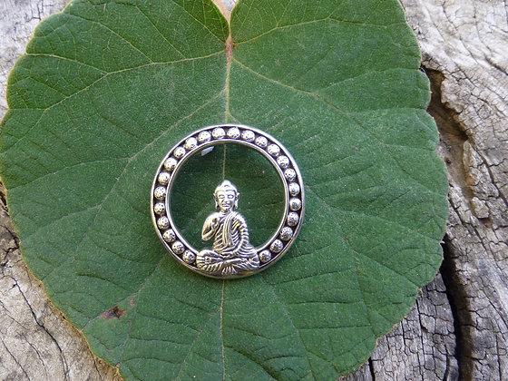 Colgante de plata Buda