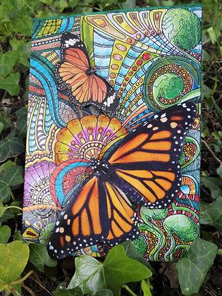 Postal de mariposas 6
