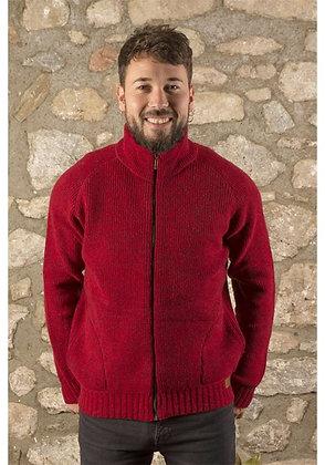 Chaqueta lana Classic roja