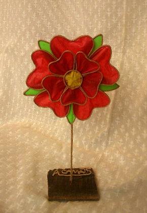 """Escultura papel """"Flor de Reus"""""""