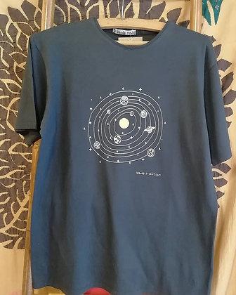 Camiseta de algodón Galaxia