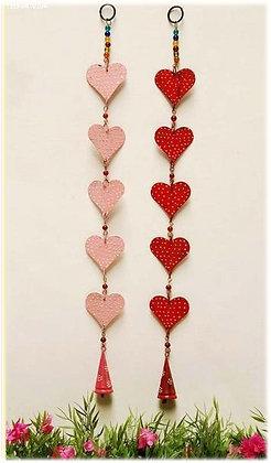 Tira con 5 corazones y 1 campana