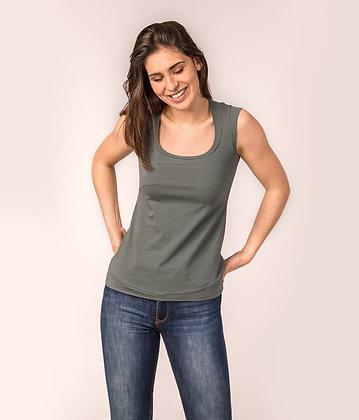 Camiseta Lusaka kaki