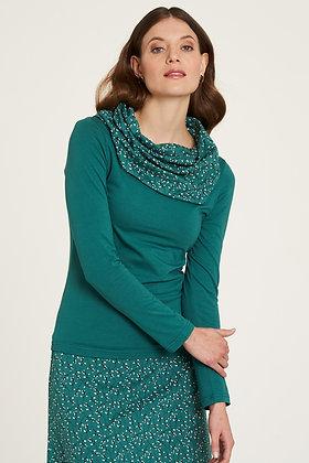 Camiseta algodón V Green
