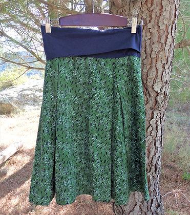 Falda de algodón Denebola, dots