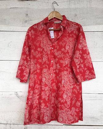 Camisa  estampada Roja