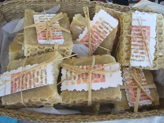 Jabón artesano de miel