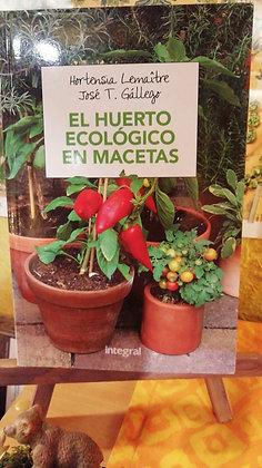 El huerto ecológico en macetas