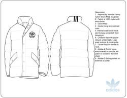sport lifestyle puffer jacket