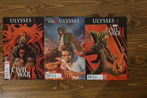 Civil War II Ulysses #1-2-3 Tam Variant Set