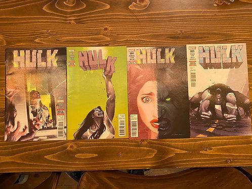 Hulk #2-3-4-5 (2016) Set