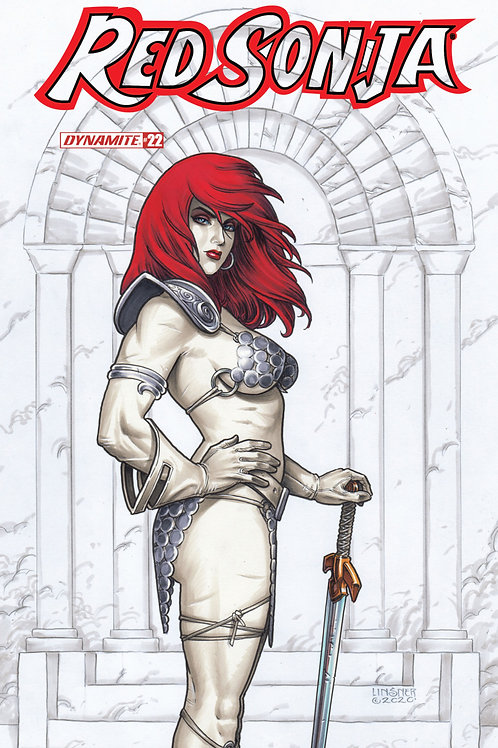 Red Sonja #22 Joseph Michael Linsner Variant