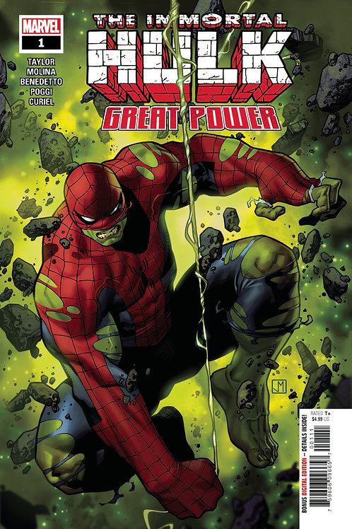 The Immortal Hulk Great Power #1