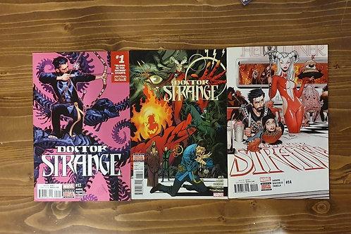 Doctor Strange (2015) #12-13-14 Set