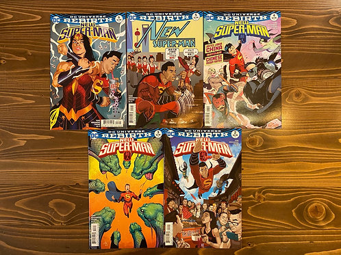 New Superman #2-3-4-5-6 Set