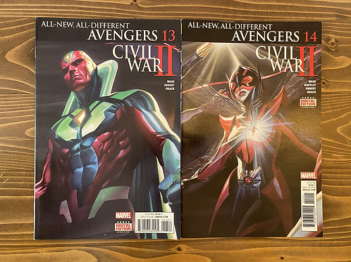 All New All Different Avengers #13-14 Set
