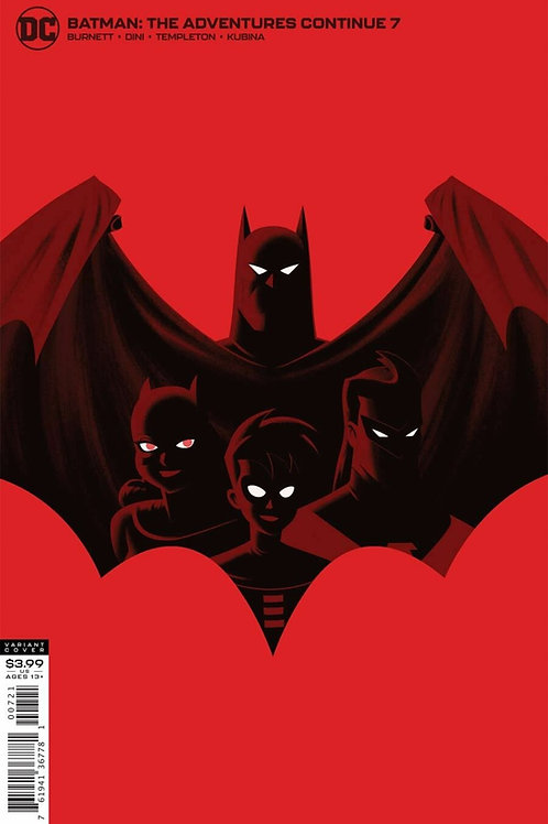 Batman: The Adventures Continue #7 Justin Erickson Variant