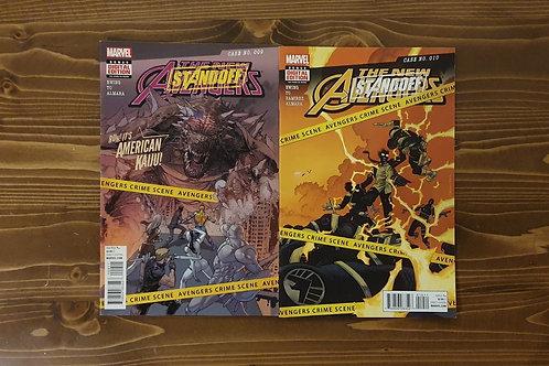 New Avengers (2015) #9-10