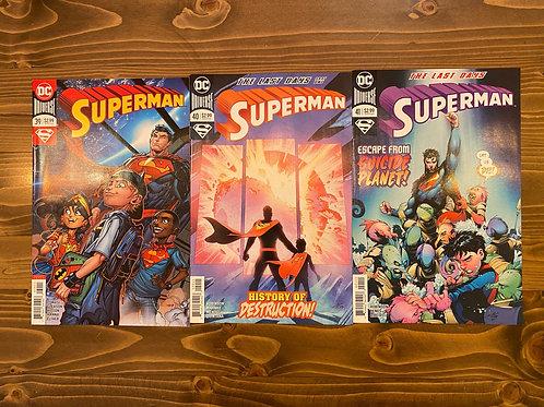 Superman #39-40-41 Set