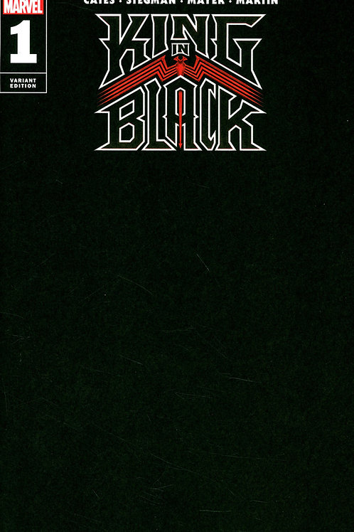 King in Black #1 Blank Variant