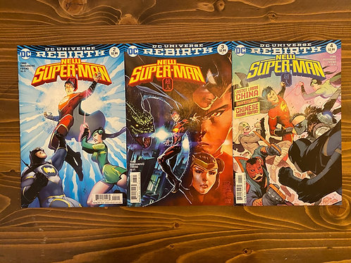 New Superman #2-3-4 Set