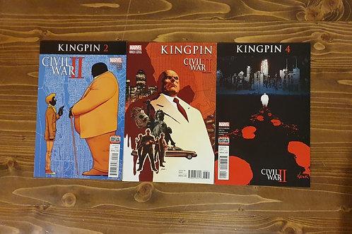 Civil War II Kingpin #2-3-4 Set